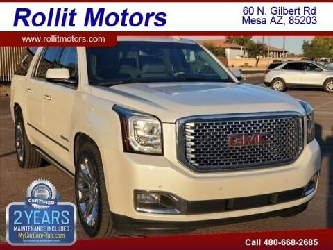 2015 GMC Yukon XL for sale at Rollit Motors in Mesa AZ