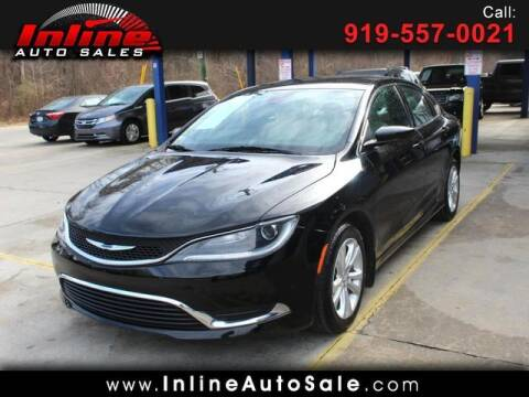 2017 Chrysler 200 for sale at Inline Auto Sales in Fuquay Varina NC