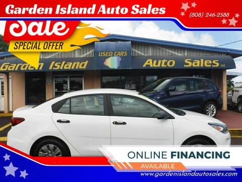 2018 Kia Rio for sale at Garden Island Auto Sales in Lihue HI