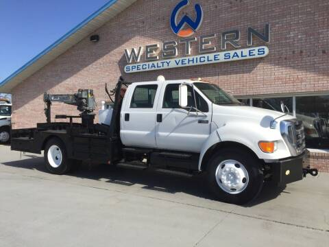 2006 Ford F-650 for sale at Western Specialty Vehicle Sales in Braidwood IL