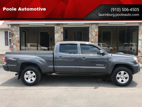 2013 Toyota Tacoma for sale at Poole Automotive in Laurinburg NC