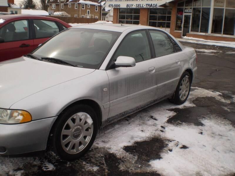 2001 Audi A4 for sale at Toledo Auto Finance Center in Toledo OH