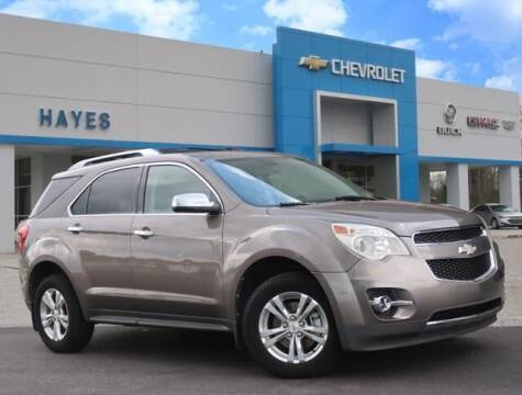 2011 Chevrolet Equinox for sale at HAYES CHEVROLET Buick GMC Cadillac Inc in Alto GA