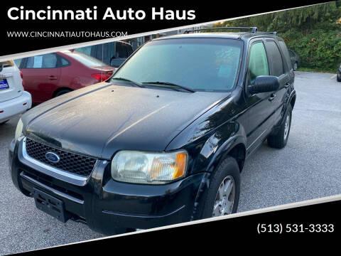 2003 Ford Escape for sale at Cincinnati Auto Haus in Cincinnati OH