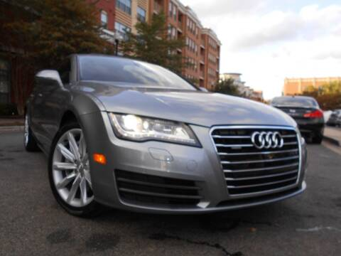 2012 Audi A7 for sale at H & R Auto in Arlington VA