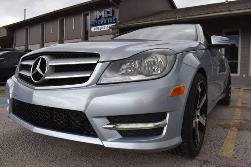 2013 Mercedes-Benz C-Class for sale at IMD Motors in Richardson TX