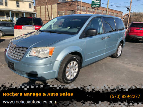 2008 Chrysler Town and Country for sale at Roche's Garage & Auto Sales in Wilkes-Barre PA