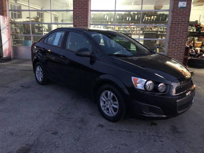 2012 Chevrolet Sonic for sale at Hensley Auto Sales in Frankfort KY