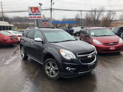 2011 Chevrolet Equinox for sale at KB Auto Mall LLC in Akron OH