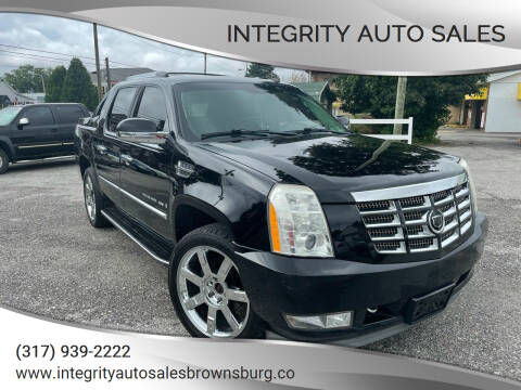 2009 Cadillac Escalade EXT for sale at Integrity Auto Sales in Brownsburg IN