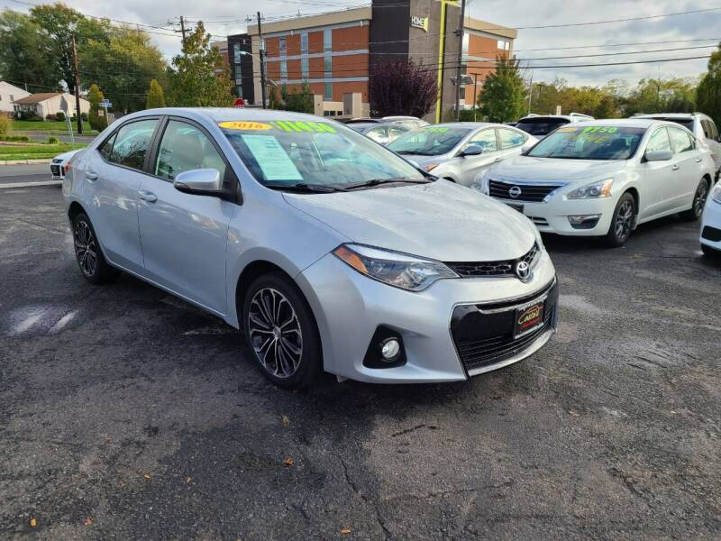 2016 Toyota Corolla for sale at Costas Auto Gallery in Rahway NJ
