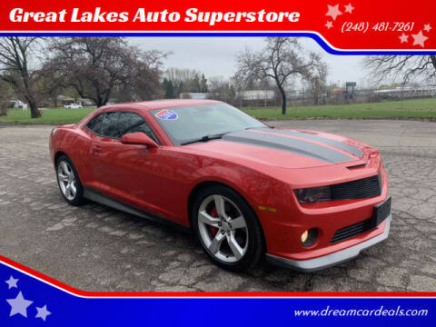 2010 Chevrolet Camaro for sale at Great Lakes Auto Superstore in Pontiac MI