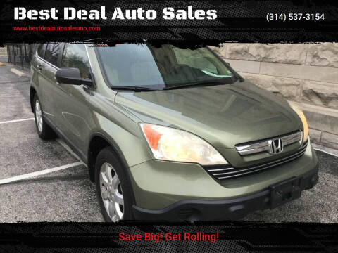 2009 Honda CR-V for sale at Best Deal Auto Sales in Saint Charles MO