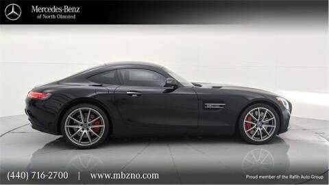 2016 Mercedes-Benz AMG GT for sale at Mercedes-Benz of North Olmsted in North Olmsted OH