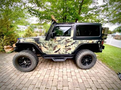 2016 Jeep Wrangler for sale at CarNu  Sales in Warminster PA