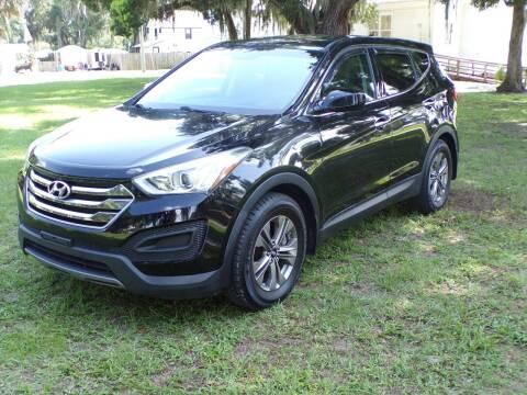 2016 Hyundai Santa Fe Sport for sale at LANCASTER'S AUTO SALES INC in Fruitland Park FL