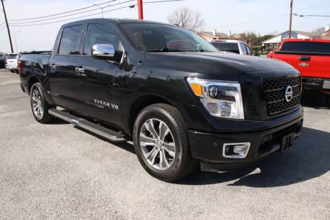 2019 Nissan Titan for sale at LLANOS AUTO SALES LLC in Dallas TX