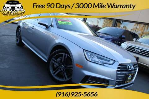 2018 Audi A4 for sale at West Coast Auto Sales Center in Sacramento CA