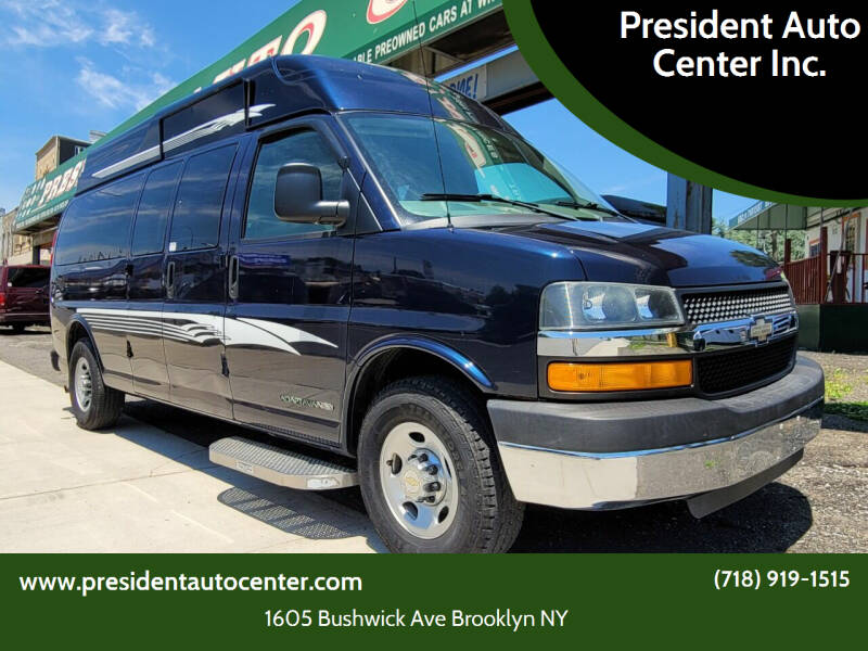 2010 Chevrolet Express Passenger for sale at President Auto Center Inc. in Brooklyn NY