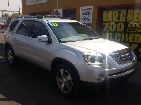 2011 GMC Acadia for sale at Sunday Car Company LLC in Phoenix AZ