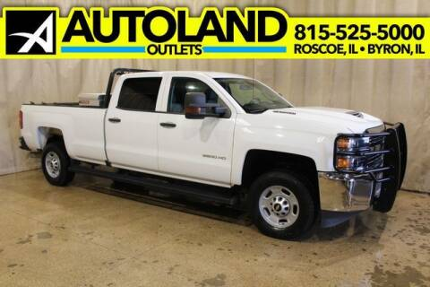 2017 Chevrolet Silverado 2500HD for sale at AutoLand Outlets Inc in Roscoe IL