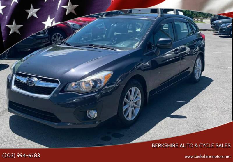 2012 Subaru Impreza for sale at Berkshire Auto & Cycle Sales in Sandy Hook CT
