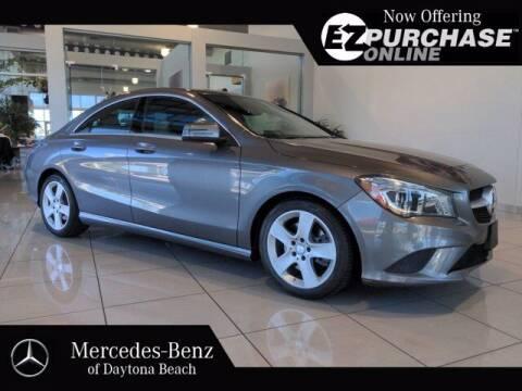 2015 Mercedes-Benz CLA for sale at Mercedes-Benz of Daytona Beach in Daytona Beach FL