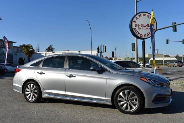2015 Hyundai Sonata for sale at San Mateo Auto Sales in San Mateo CA