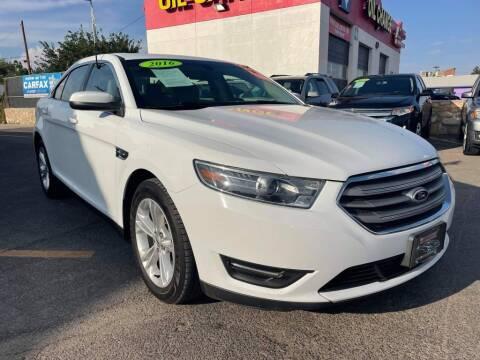 2016 Ford Taurus for sale at VIVASTREET AUTO SALES LLC - VivaStreet Auto Sales in Socorro TX