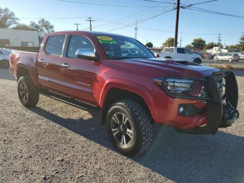 2017 Toyota Tacoma for sale at CHURCHILL AUTO SALES in Fallon NV