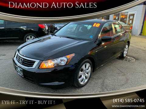 2010 Honda Accord for sale at Diamond Auto Sales in Milwaukee WI