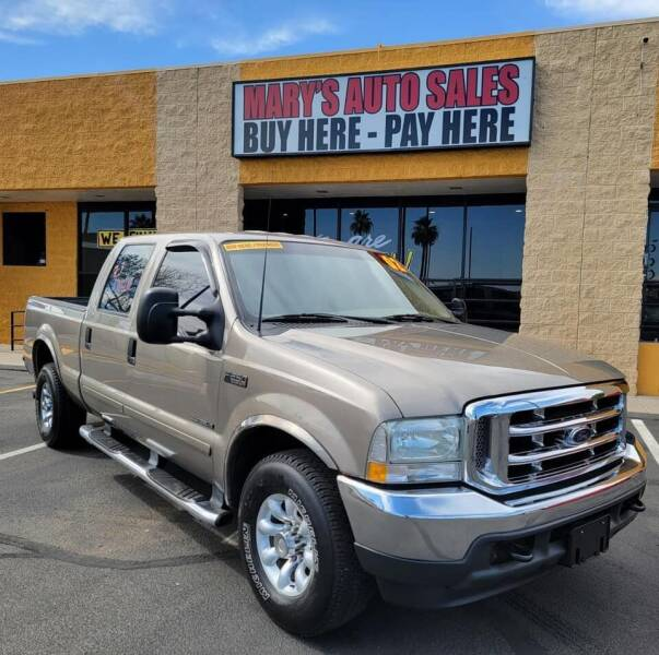 2002 Ford F-250 Super Duty for sale at Marys Auto Sales in Phoenix AZ