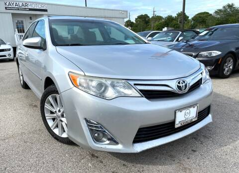 2012 Toyota Camry for sale at KAYALAR MOTORS in Houston TX