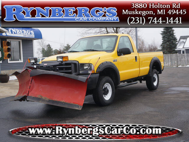 2004 Ford F-350 Super Duty for sale at Rynbergs Car Co in Muskegon MI