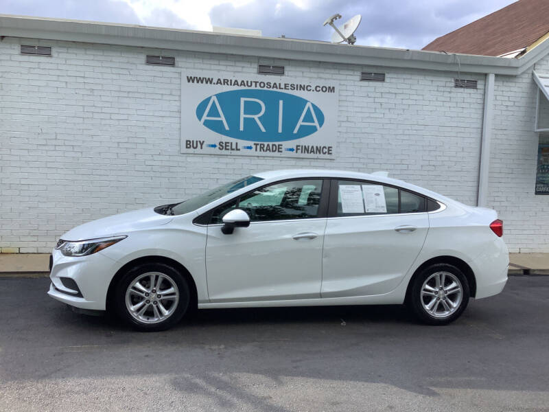2018 Chevrolet Cruze for sale at ARIA  AUTO  SALES in Raleigh NC