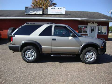 2000 Chevrolet Blazer for sale at G and G AUTO SALES in Merrill WI