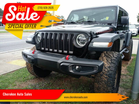 2018 Jeep Wrangler Unlimited for sale at Cherokee Auto Sales in Acworth GA