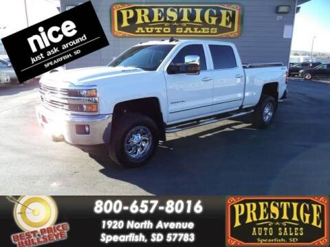 2016 Chevrolet Silverado 2500HD for sale at PRESTIGE AUTO SALES in Spearfish SD