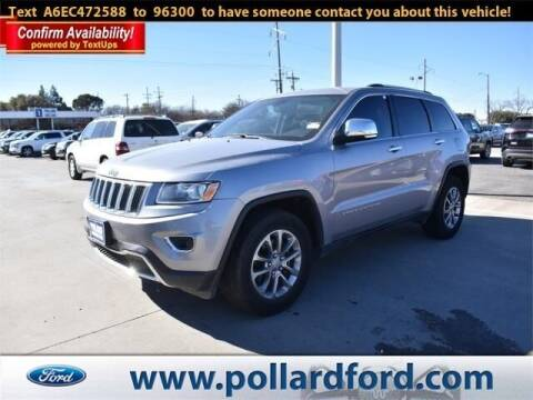 2014 Jeep Grand Cherokee for sale at South Plains Autoplex by RANDY BUCHANAN in Lubbock TX