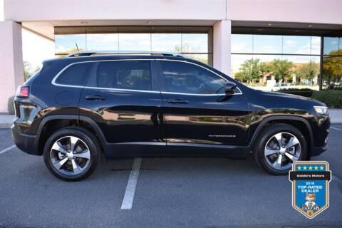2019 Jeep Cherokee for sale at GOLDIES MOTORS in Phoenix AZ