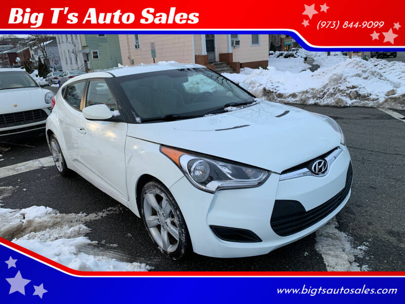 2013 Hyundai Veloster for sale at Big T's Auto Sales in Belleville NJ