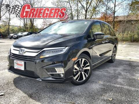 2019 Honda Odyssey for sale at GRIEGER'S MOTOR SALES CHRYSLER DODGE JEEP RAM in Valparaiso IN