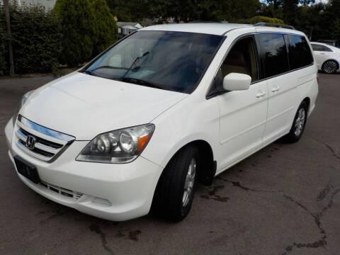 2006 Honda Odyssey for sale at RTE 123 Village Auto Sales Inc. in Attleboro MA