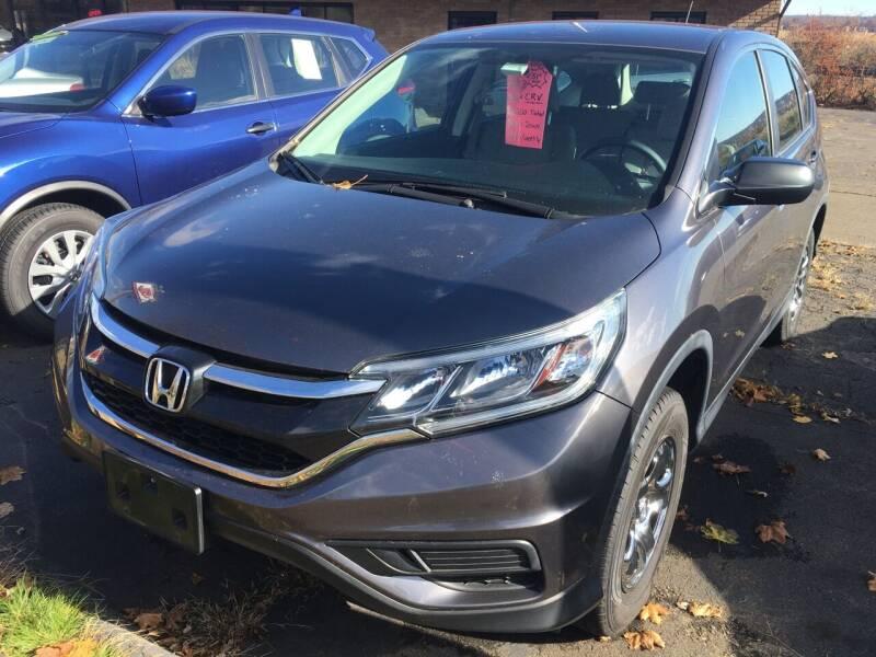 2016 Honda CR-V for sale at MELILLO MOTORS INC in North Haven CT