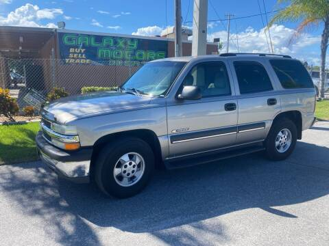 2003 Chevrolet Tahoe for sale at Galaxy Motors Inc in Melbourne FL