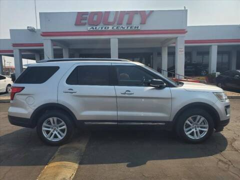 2018 Ford Explorer for sale at EQUITY AUTO CENTER in Phoenix AZ