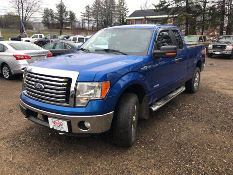 2012 Ford F-150 for sale at Winner's Circle Auto Sales in Tilton NH