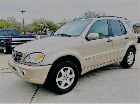2002 Mercedes-Benz M-Class for sale at Testarossa Motors Inc. in League City TX