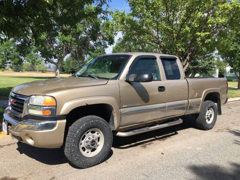 2004 GMC Sierra 2500HD for sale at Kevs Auto Sales in Helena MT