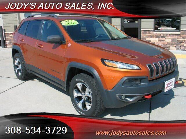 2016 Jeep Cherokee for sale at Jody's Auto Sales in North Platte NE